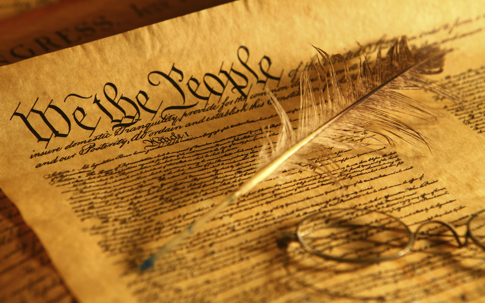 a report on the united states constitution The constitution of the united states: a transcription note: the following text is a transcription of the constitution as it was inscribed by jacob shallus on parchment (the document on.